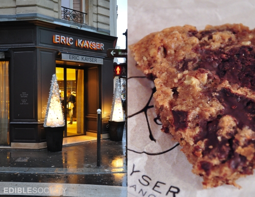 Cookies Noir at Eric Kayser Paris