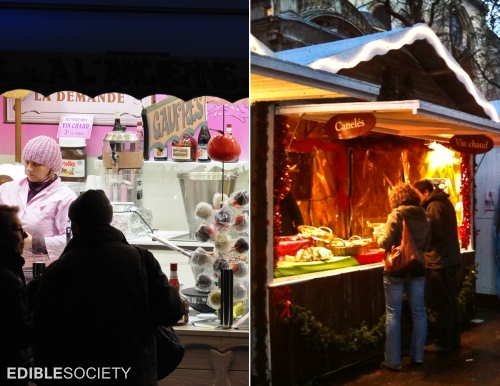 Christmas Food Markets, Paris