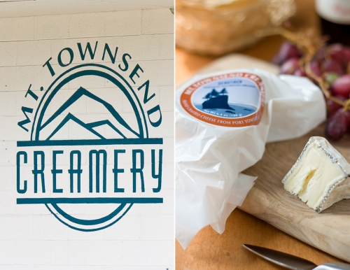 Mt Townsend Creamery and Seastack Cheese